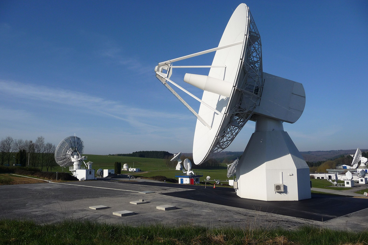Galileo L1 station at Redu, Belgium (Credit: Wikipedia)